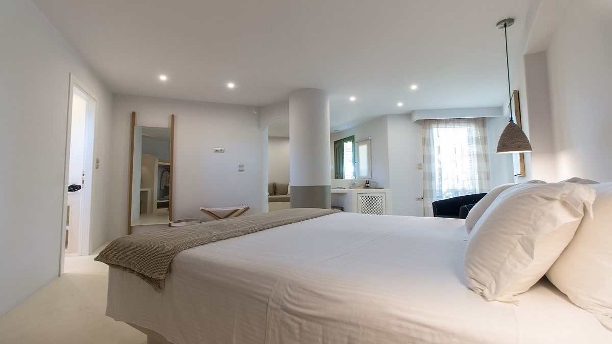 Executive Side Sea View Suites Hotel Naxos