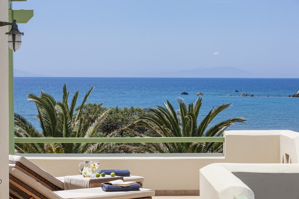 Luxury hotel suites Naxos Island