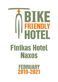 Bike friendly hotels Naxos